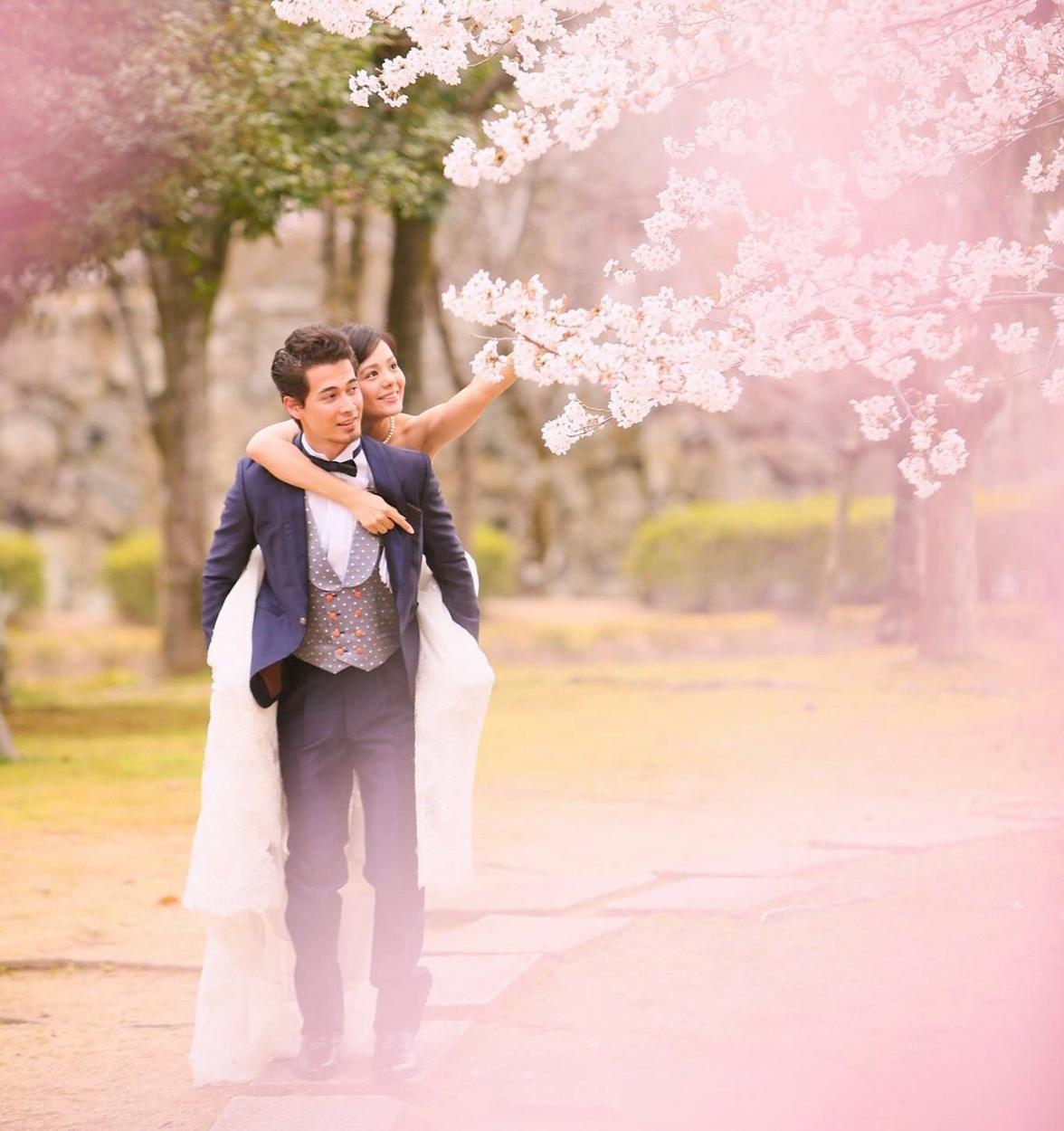 今春の桜ロケ撮影ご予約始まってます!