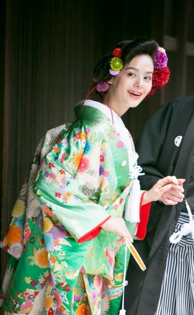 \梅鉢2周年記念/夏の和装フォトウエディングキャンペーン!